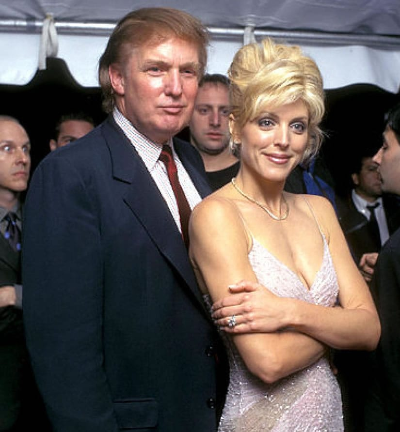 Marla Maples, second wife of Donald Trump