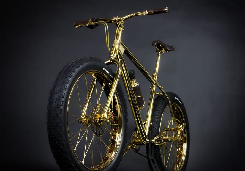 Most Expensive Gold Extreme Mountain Bike