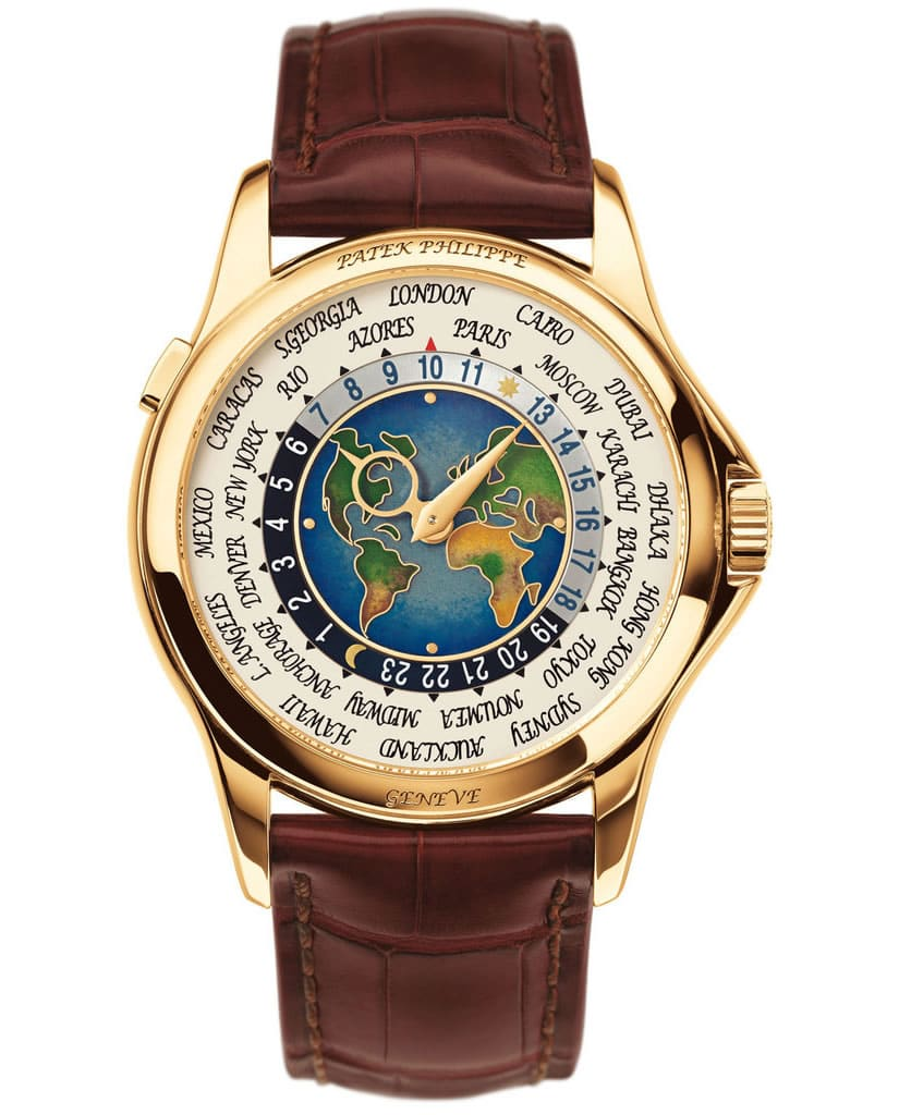 Most Expensive Patek Philippe 1953 Heures Universelles Model 2523