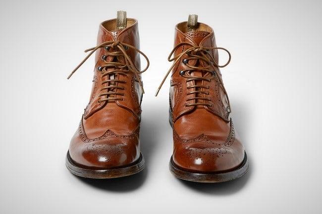 Officine Creative 'Anatomia' Brogue Boots 3