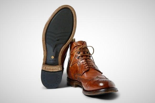 Officine Creative 'Anatomia' Brogue Boots 4