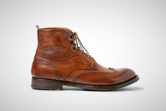 Officine Creative 'Anatomia' Brogue Boots 6
