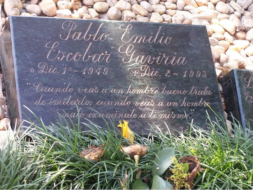 Pablo Escobar Grave - Cemetario Jardins Montesacro, Itagui, Colombia