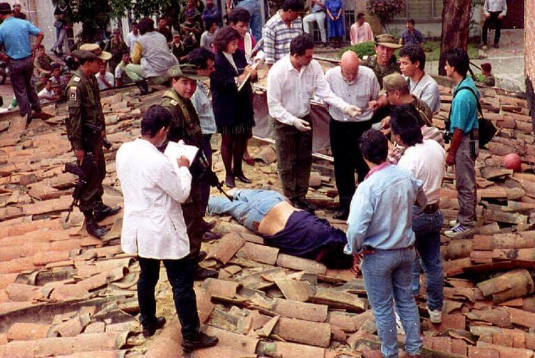 Pablo Escobar's Death
