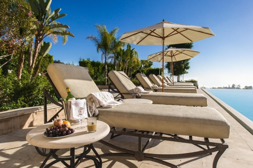 Palazzo di Amore in Beverly Hills Poolside