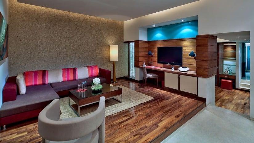 Per Aquum Desert Palm Resort Living Room