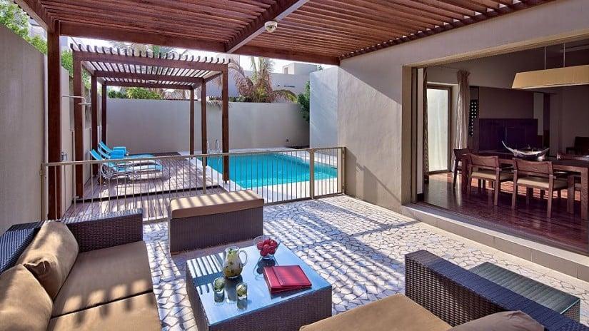 Per Aquum Desert Palm Resort Pool Area
