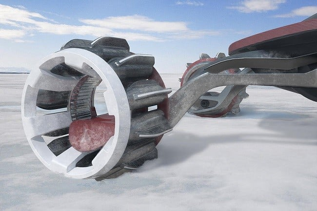 Rapid Deployment Snow Vehicle Concept 1