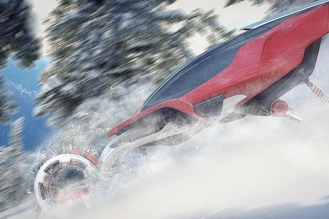 Rapid Deployment Snow Vehicle Concept 10