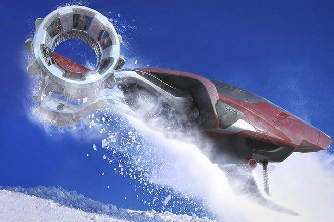 Rapid Deployment Snow Vehicle Concept 12
