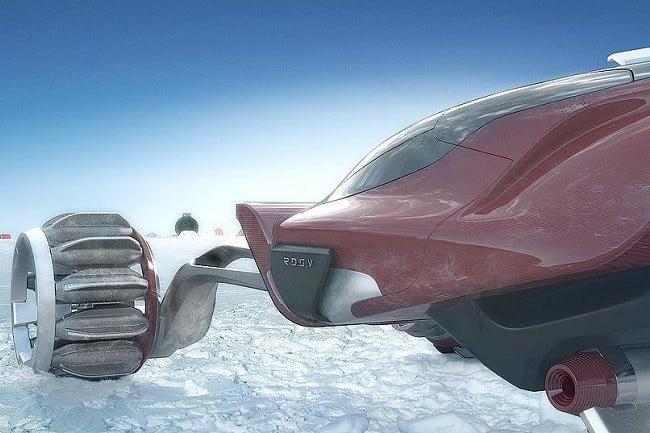Rapid Deployment Snow Vehicle Concept 2