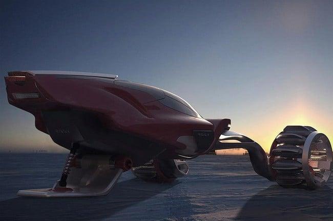 Rapid Deployment Snow Vehicle Concept 3