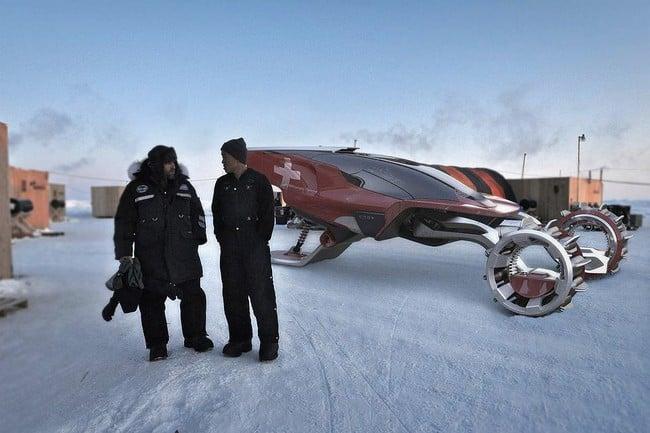 Rapid Deployment Snow Vehicle Concept Men S Gear