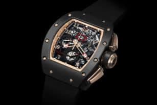 Richard Mille 011 Felipe Massa Flyback Chronograph Black Kite