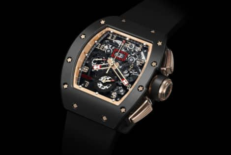 Richard Mille 011 Felipe Massa Flyback Chronograph Black Kite