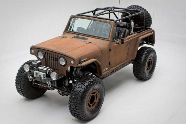Rusted Jeep Terra Crawler 4