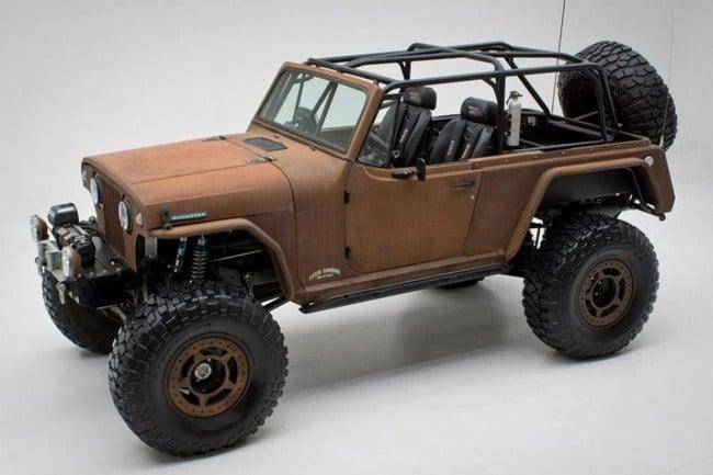 Rusted Jeep Terra Crawler 6