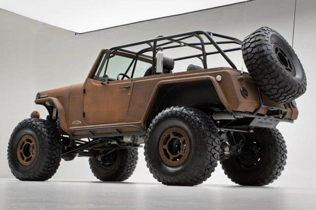 Rusted Jeep Terra Crawler 8