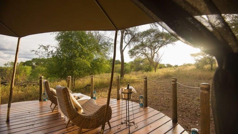 Sanctuary Swala Camp Lounge Area