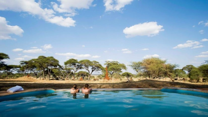 Sanctuary Swala Camp Swimming Pool