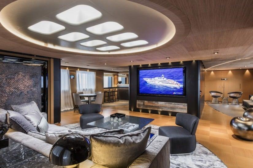Suerte Superyacht by Tankoa Shipyard Upper Salon