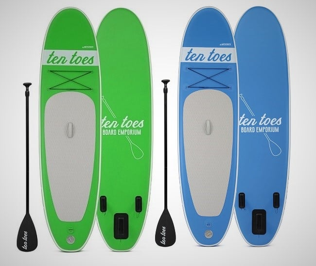 Ten Toes Inflatable SUP Boards 5
