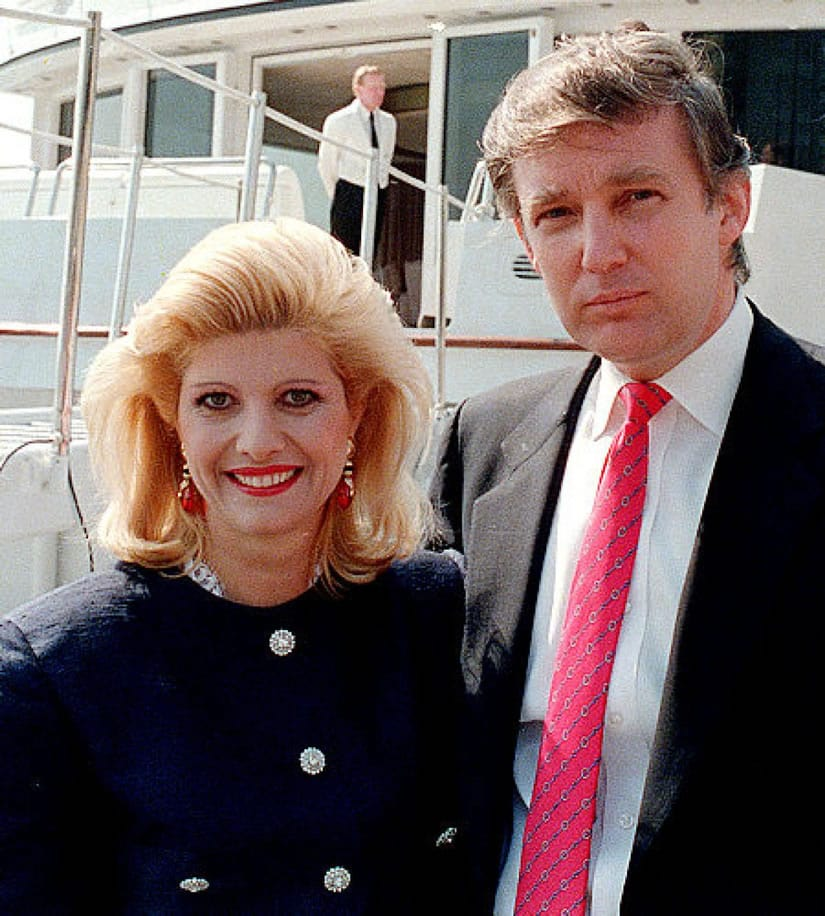 Trump and his first wife Ivana Trump