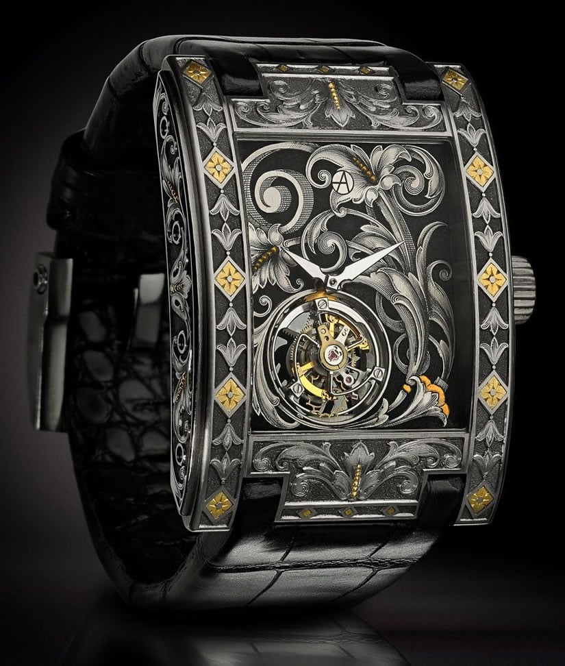 Unique Arabesque Timepiece by ArtyA