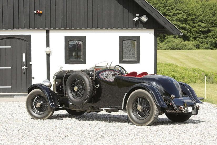 Vintage 1927 Bentley 6 ½ Litre 'Bob-Tail'