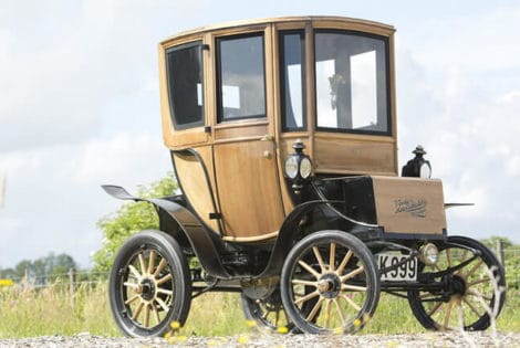 Vintage Electric Car Sold
