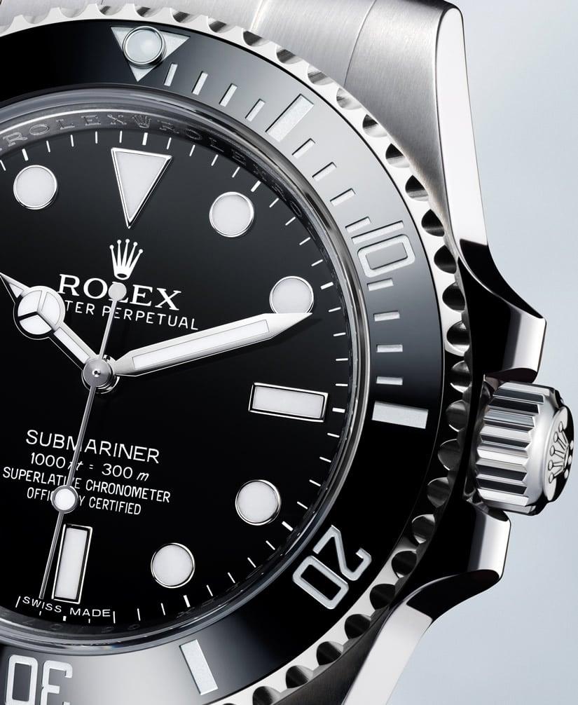 Water Resistant Rolex Submariner Timepiece
