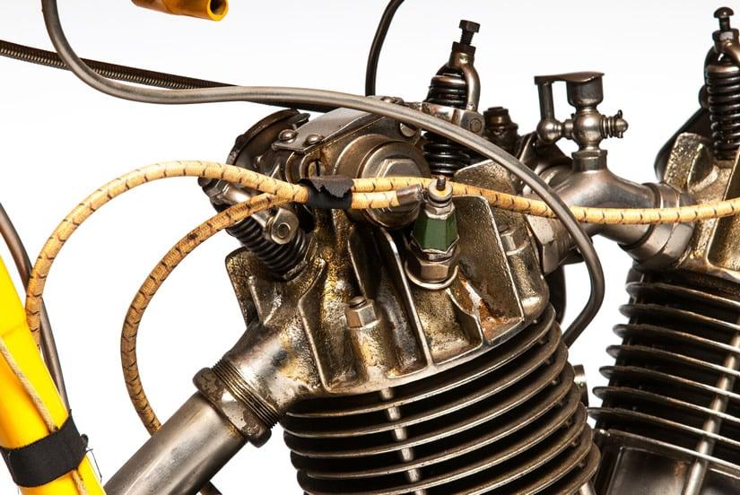 1915 Cyclone Board Motorcycle