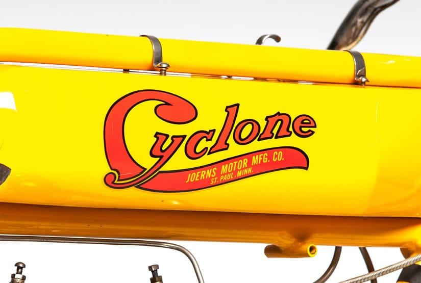 1915 Cyclone Board Track Racer Crossbar