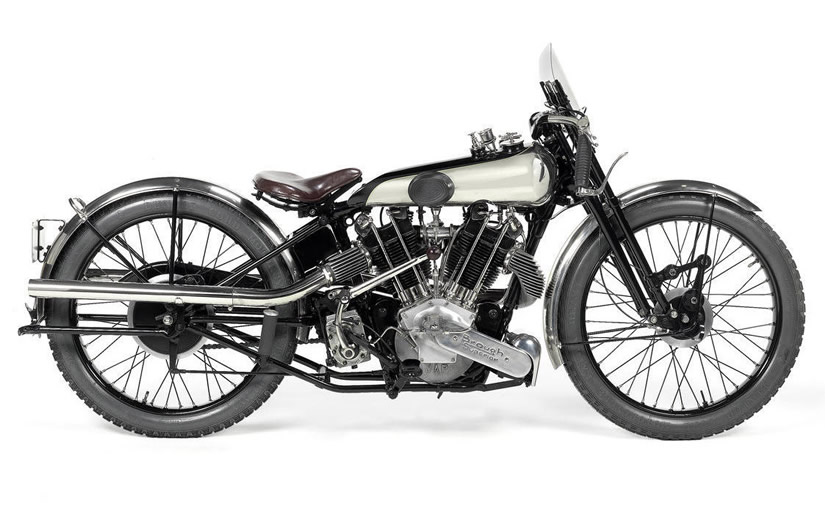 1922 Brough Superior SS80 Side View