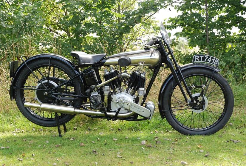 1922 Brough Superior SS80