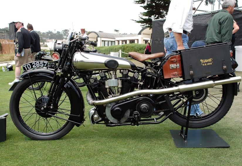 1926 Brough Superior SS100 Alpine Grand Sports