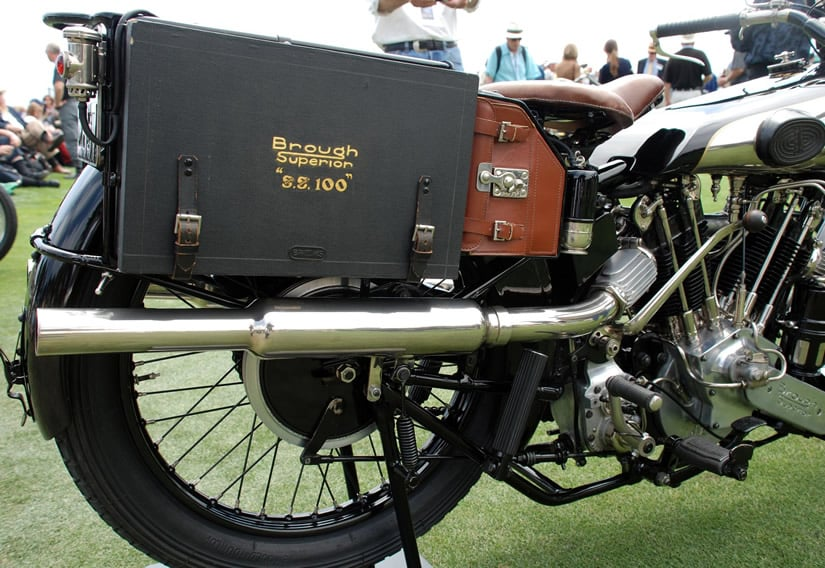 1926 Brough Superior SS100 Motorcycle
