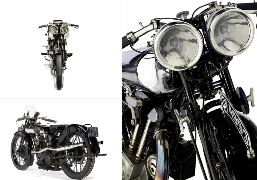 1929 Airplane Grand Sports Most Expensive Motocycle