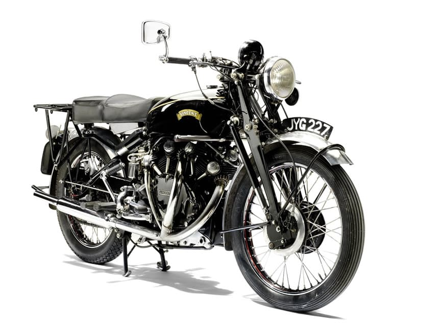 1929 Brough Superior SS100 Airplane Grand Sports