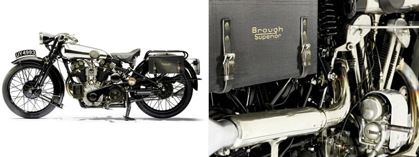 1929 SS100 Airplane Grand Sports Brough Superior