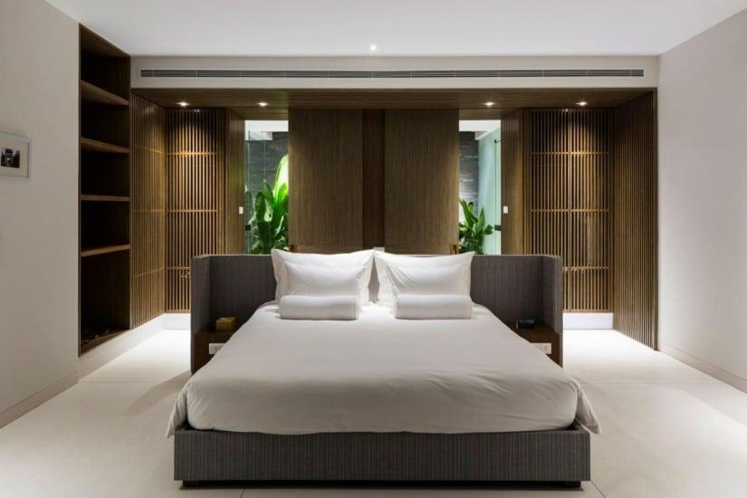 Bedroom, Naman Residence in Vietnam by MIA Design Studio