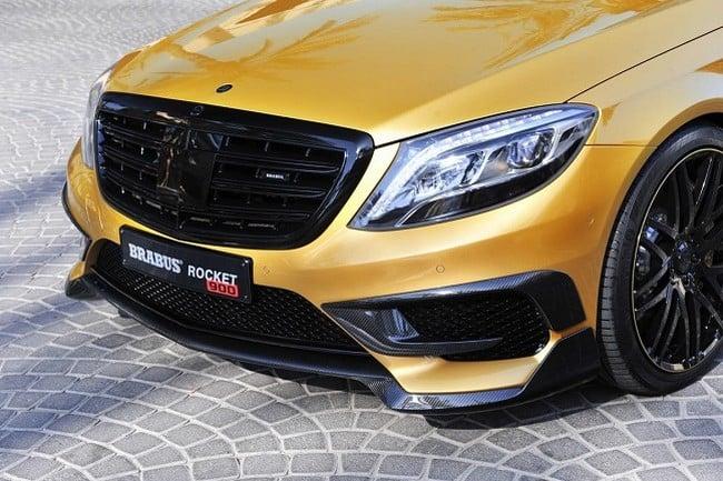 Brabus Desert Gold Mercedes S65 1