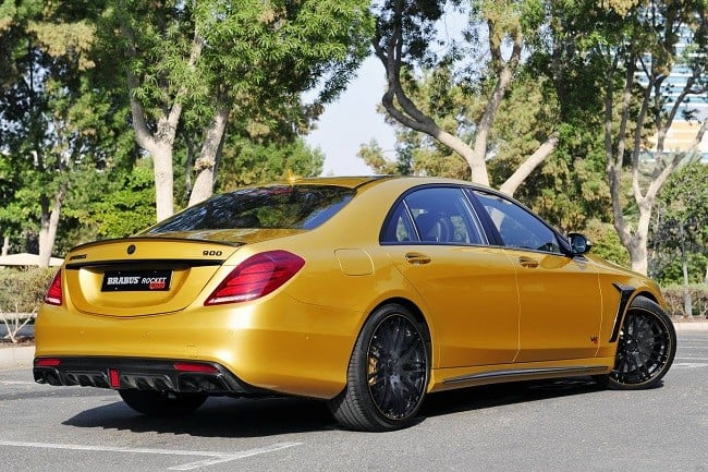 Brabus Desert Gold Mercedes S65 11