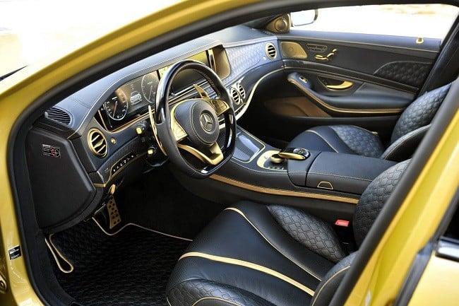 Brabus Desert Gold Mercedes S65 12