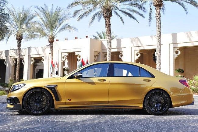 Brabus Desert Gold Mercedes S65 2
