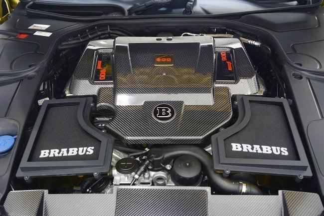 Brabus Desert Gold Mercedes S65 5