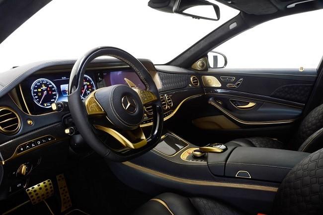 Brabus Desert Gold Mercedes S65 6