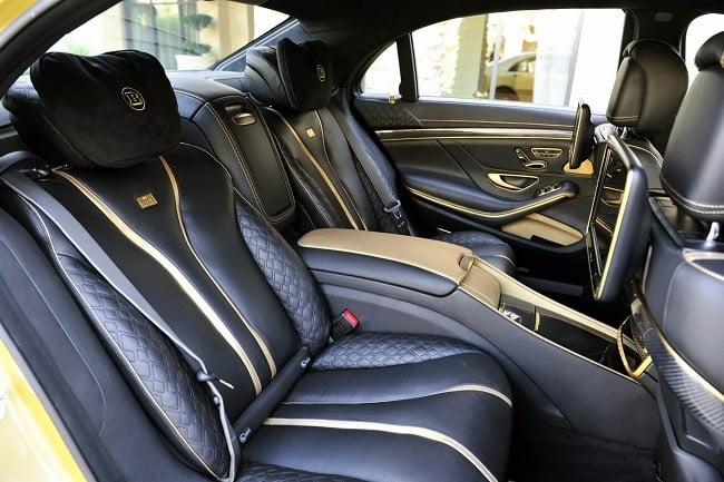 Brabus Desert Gold Mercedes S65 9
