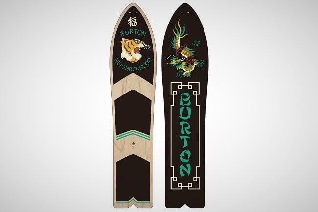 Burton x Neighborhood Throwback Snowboard 2