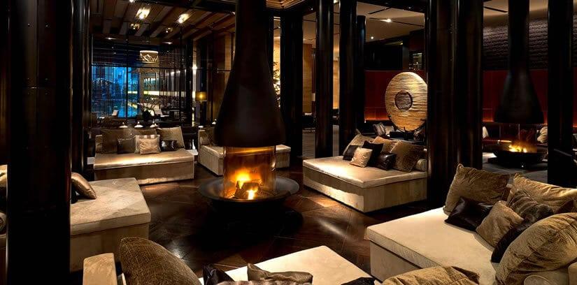 Chedi Andermatt Hotel The Lobby